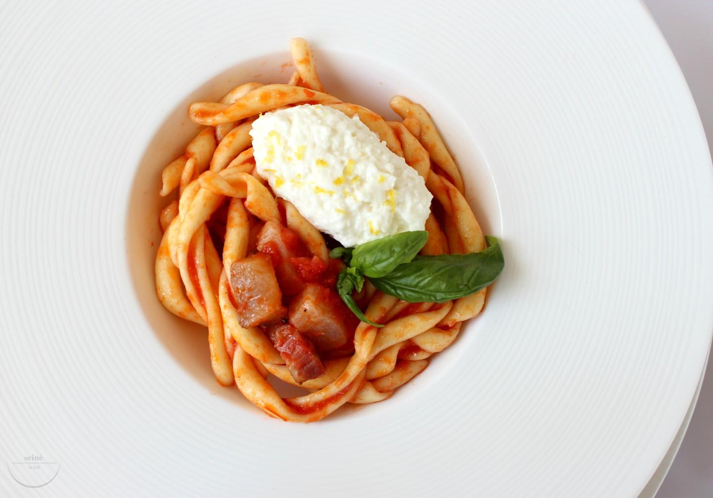 busiate con pancetta paesana